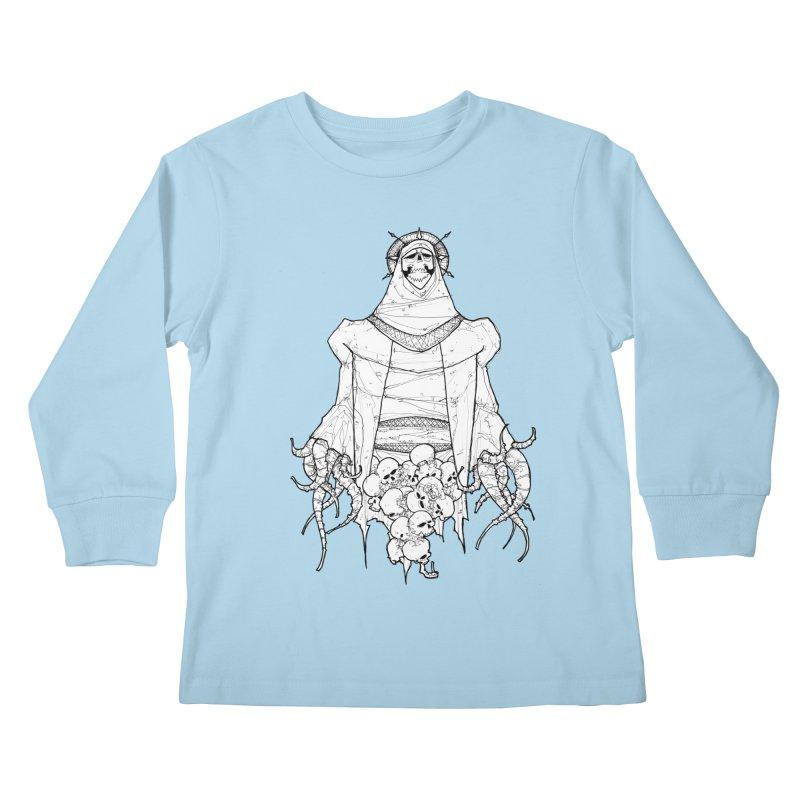 Preaching to Chiors Kids Longsleeve T-Shirt by Katiecrimespree's Ye Olde Shirt Shoppe