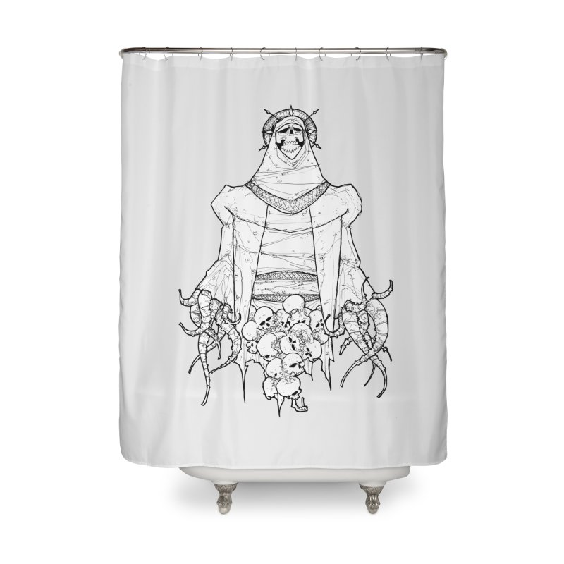 Preaching to Chiors Home Shower Curtain by Katiecrimespree's Ye Olde Shirt Shoppe
