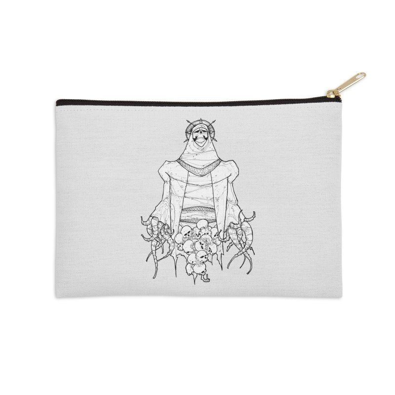Preaching to Chiors Accessories Zip Pouch by Katiecrimespree's Ye Olde Shirt Shoppe