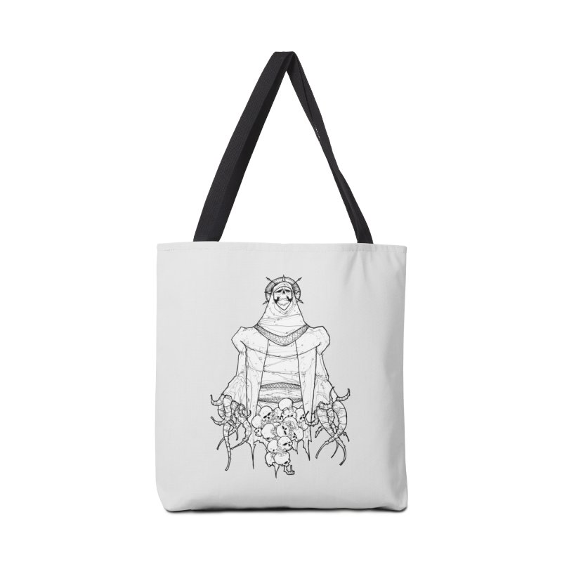 Preaching to Chiors Accessories Tote Bag Bag by Katiecrimespree's Ye Olde Shirt Shoppe