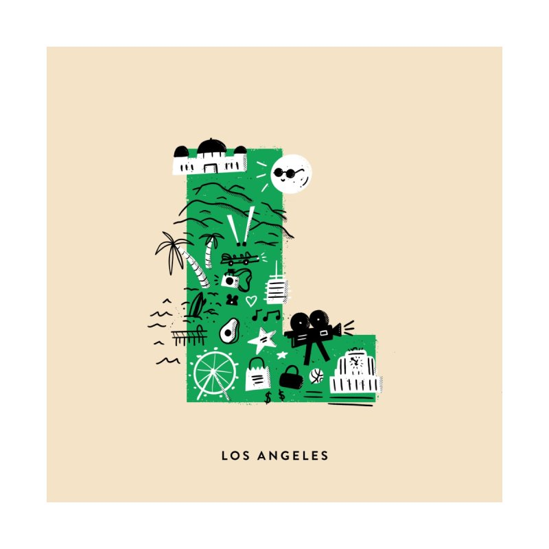 Los Angeles by Katie Lukes