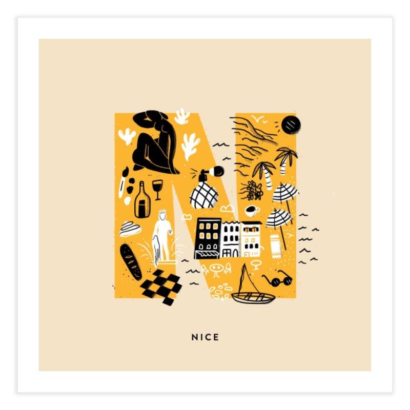 Nice Home Fine Art Print by Katie Lukes