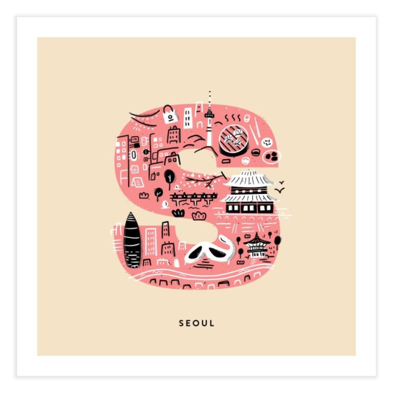 Seoul Home Fine Art Print by Katie Lukes