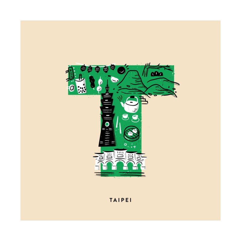 Taipei Home Framed Fine Art Print by Katie Lukes