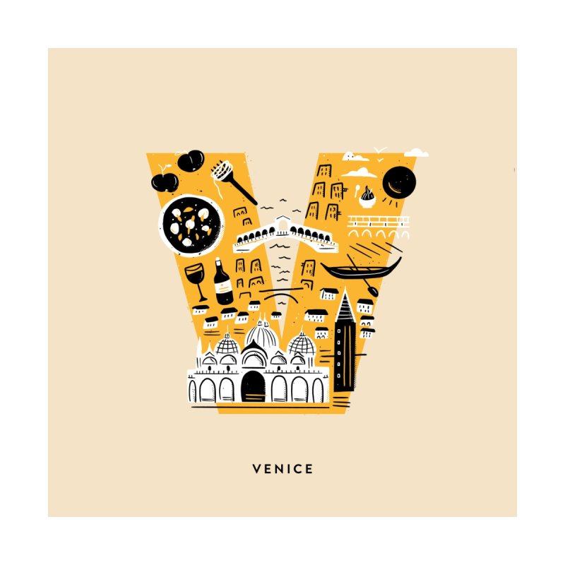 Venice Home Framed Fine Art Print by Katie Lukes