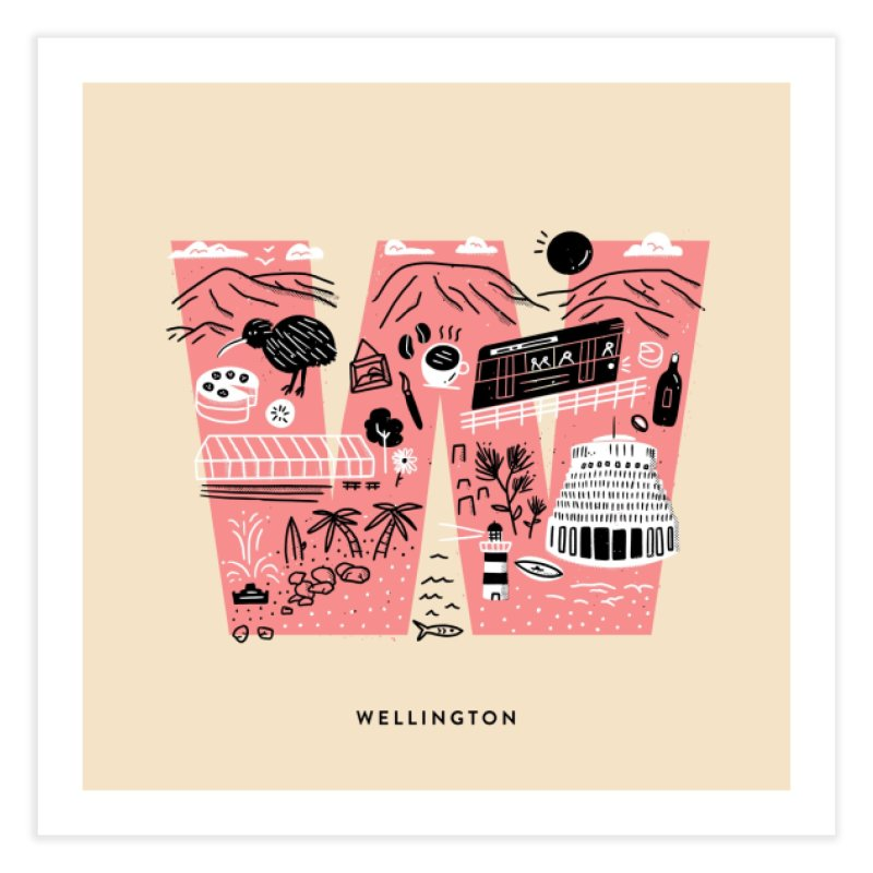 Wellington Home Fine Art Print by Katie Lukes
