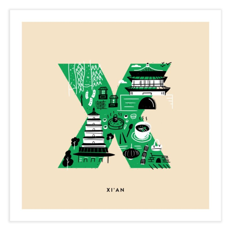 Xi'an Home Fine Art Print by Katie Lukes