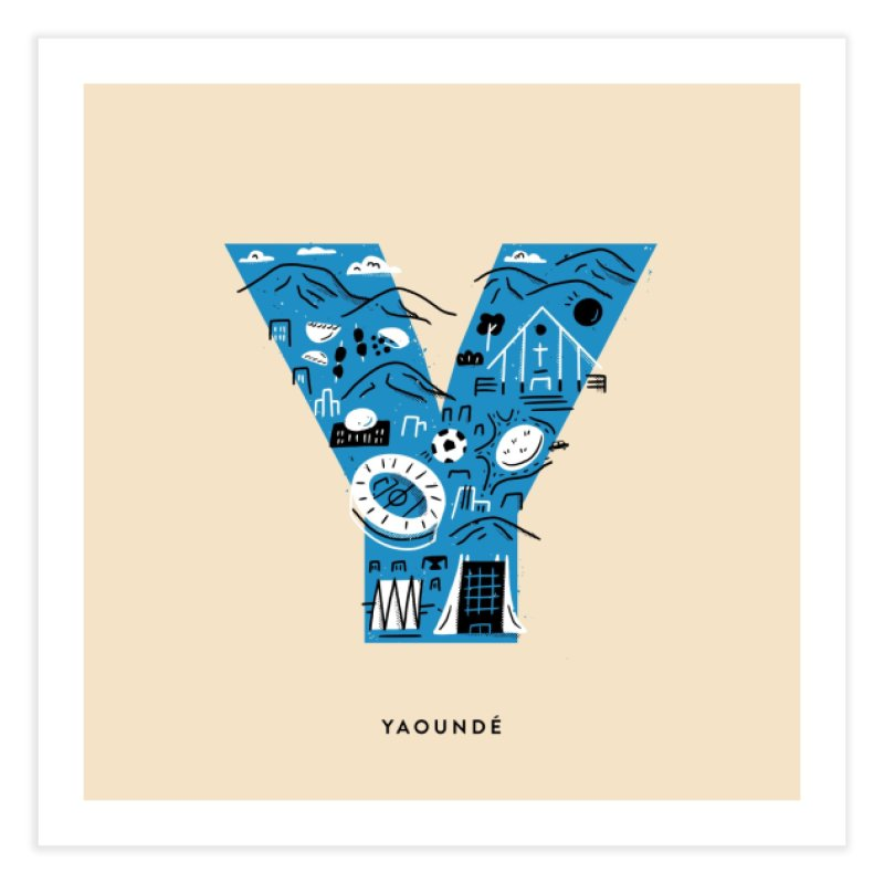 Yaounde Home Fine Art Print by Katie Lukes