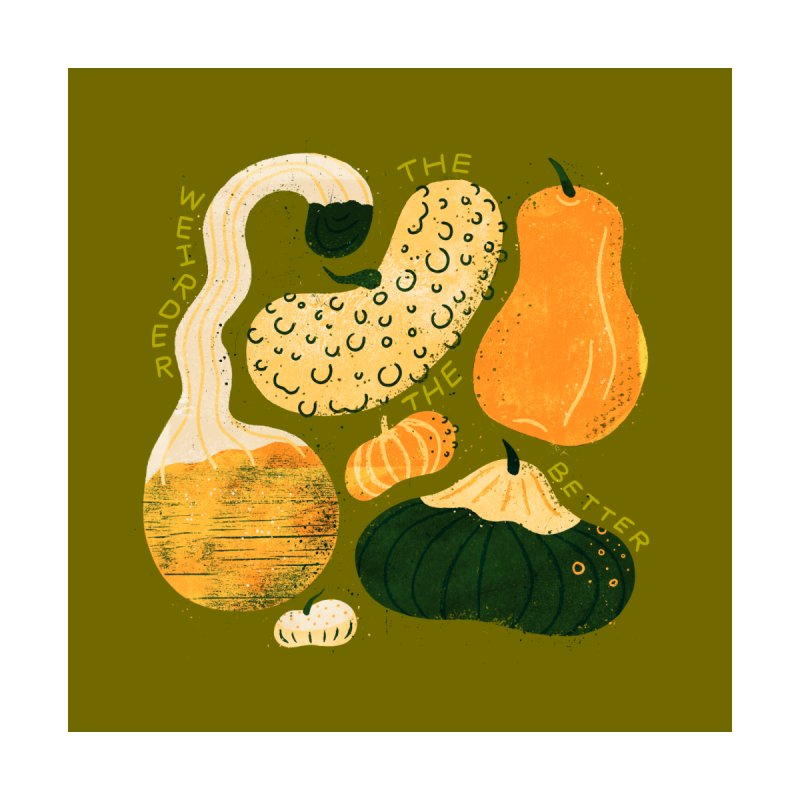 Weird Gourds by Katie Lukes