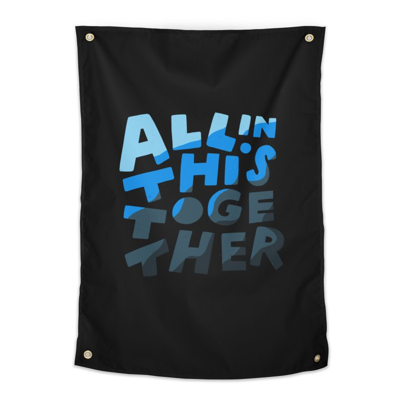 All In This Together Home Tapestry by Katie Lukes