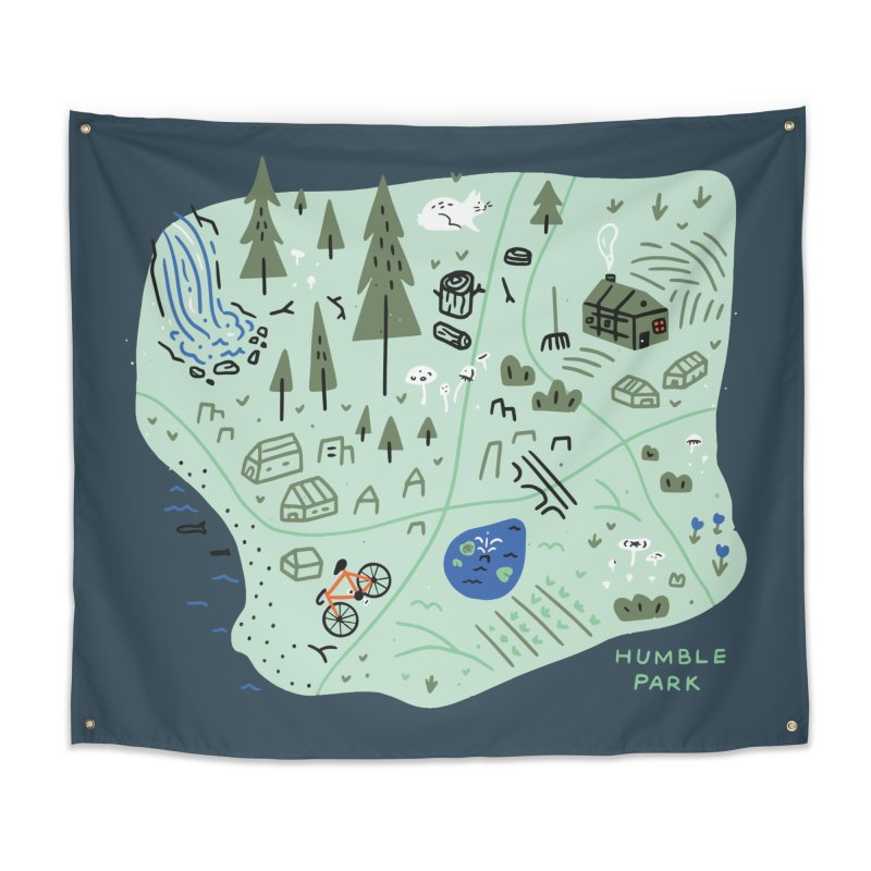 Humble Park Home Tapestry by Katie Lukes
