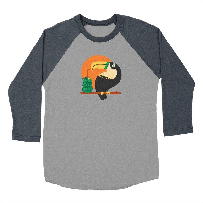 Drunk Toucan Women's Longsleeve T-Shirt by Katie Lukes