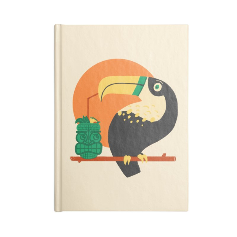 Drunk Toucan Accessories Notebook by Katie Lukes