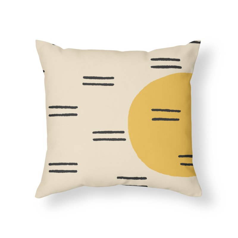 By Two Home Throw Pillow by Katie Lukes