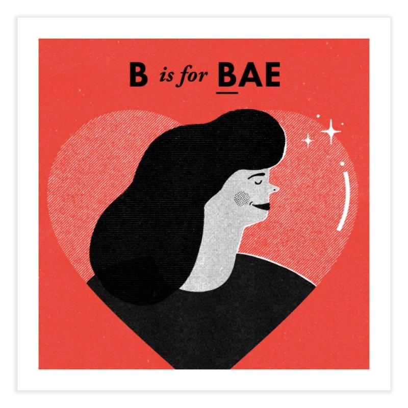 B Home Fine Art Print by Katie Lukes