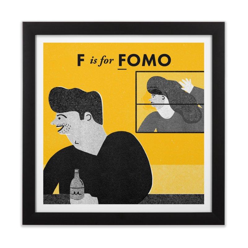 F Home Framed Fine Art Print by Katie Lukes