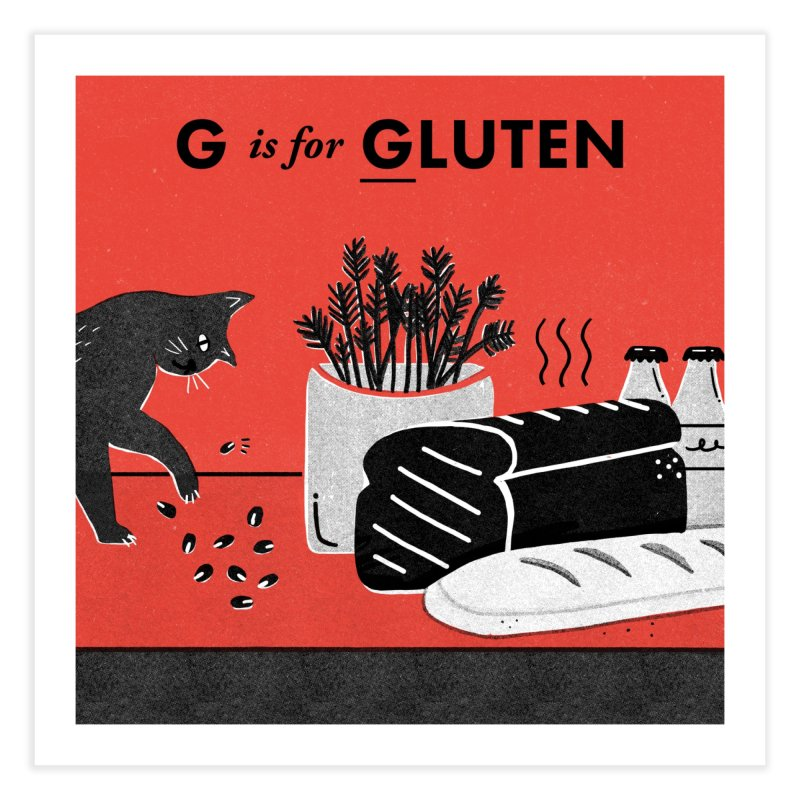 G Home Fine Art Print by Katie Lukes