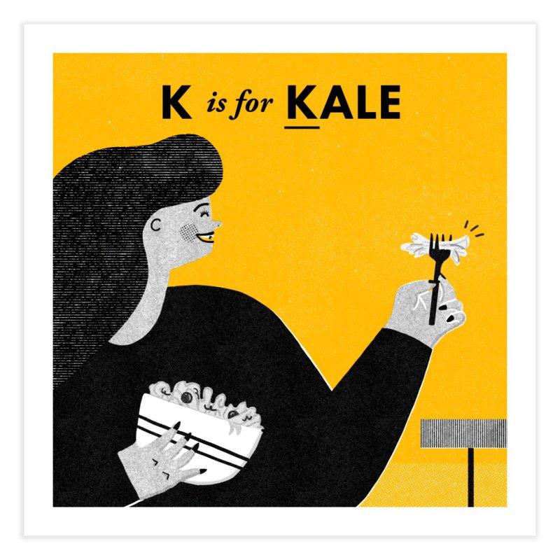 K Home Fine Art Print by Katie Lukes