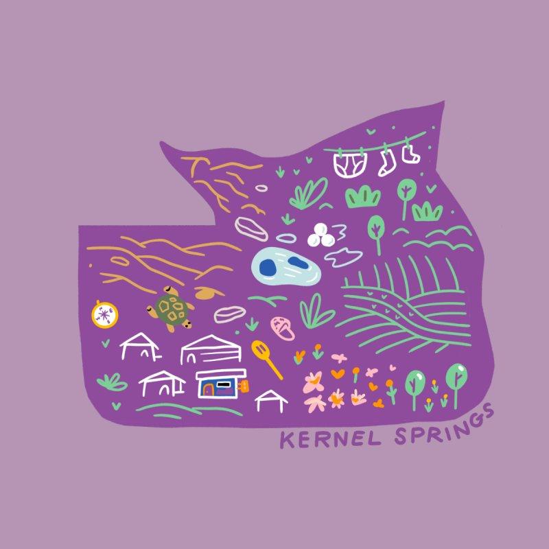 Kernel Springs Home Tapestry by Katie Lukes
