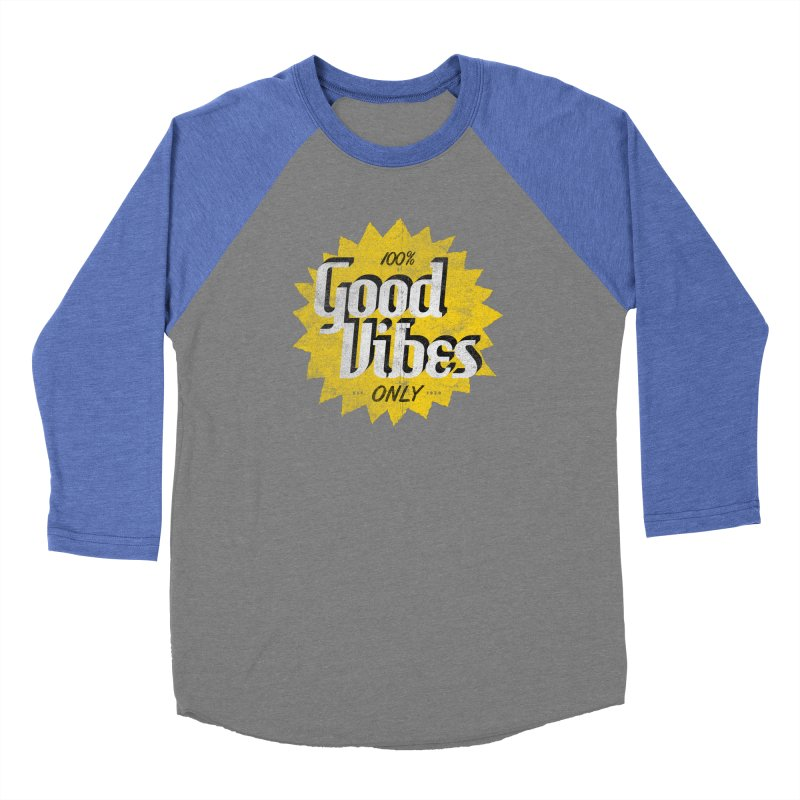 Good Vibes Only Women's Longsleeve T-Shirt by Katie Lukes