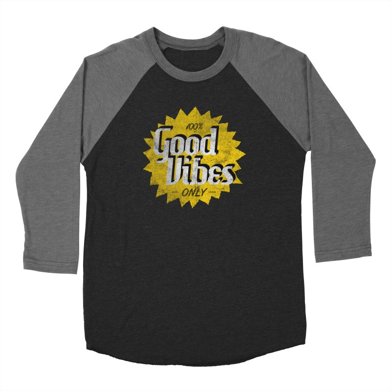Good Vibes Only Men's Longsleeve T-Shirt by Katie Lukes