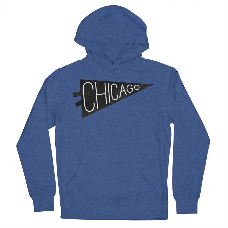 Chicago Pride Women's French Terry Pullover Hoody by Katie Lukes