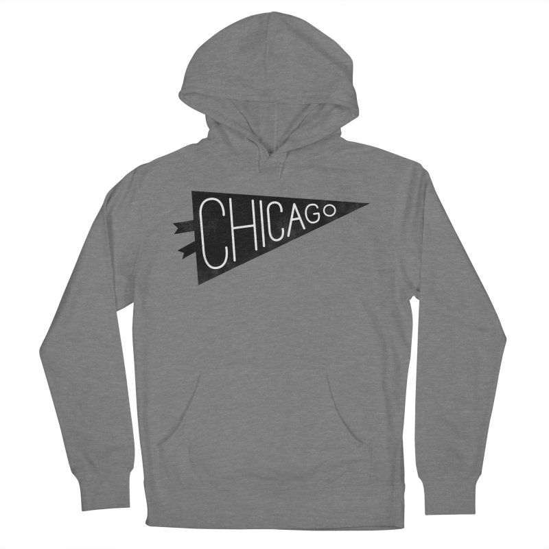 Chicago Pride Men's French Terry Pullover Hoody by Katie Lukes
