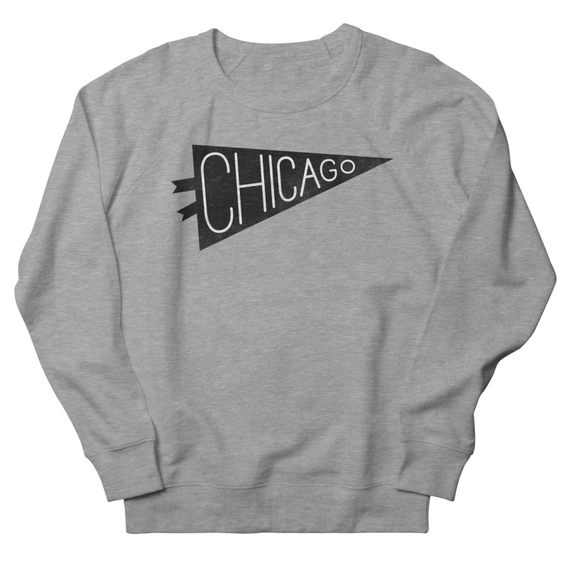 Chicago Pride Men's French Terry Sweatshirt by Katie Lukes
