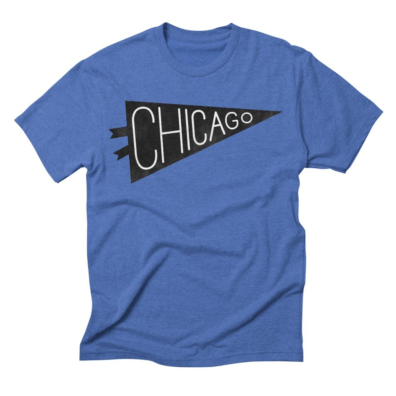 Chicago Pride Men's Triblend T-shirt by Katie Lukes