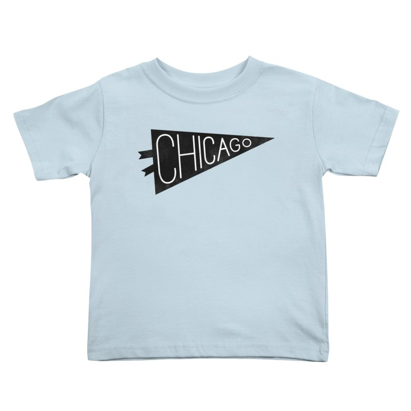 Chicago Pride Kids Toddler T-Shirt by Katie Lukes