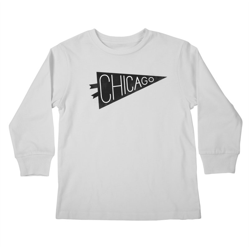 Chicago Pride Kids Longsleeve T-Shirt by Katie Lukes