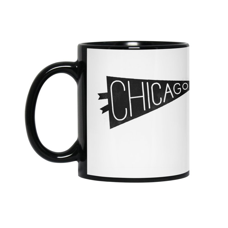 Chicago Pride Accessories Mug by Katie Lukes