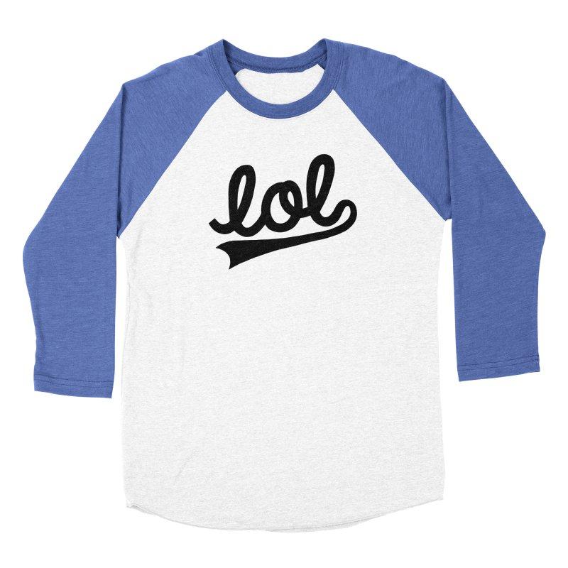 lol Women's Longsleeve T-Shirt by Katie Lukes