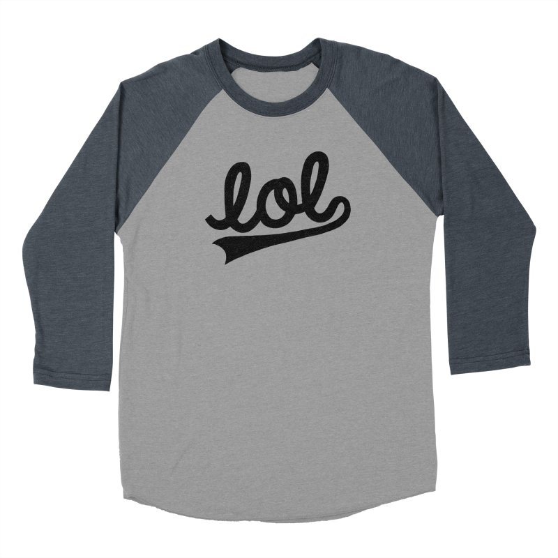 lol Women's Longsleeve T-Shirt by Katie Lukes