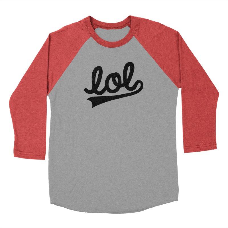 lol Men's Longsleeve T-Shirt by Katie Lukes