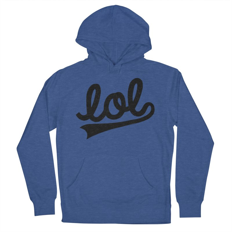 lol Men's French Terry Pullover Hoody by Katie Lukes