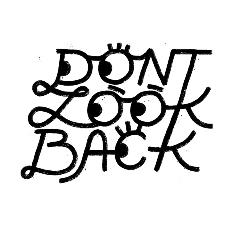 Don't Look Back Men's T-Shirt by Katie Lukes