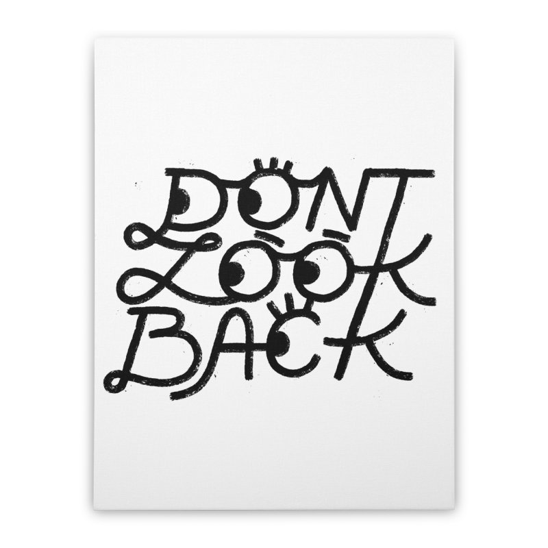 Don't Look Back Home Stretched Canvas by Katie Lukes