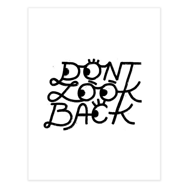 Don't Look Back Home Fine Art Print by Katie Lukes