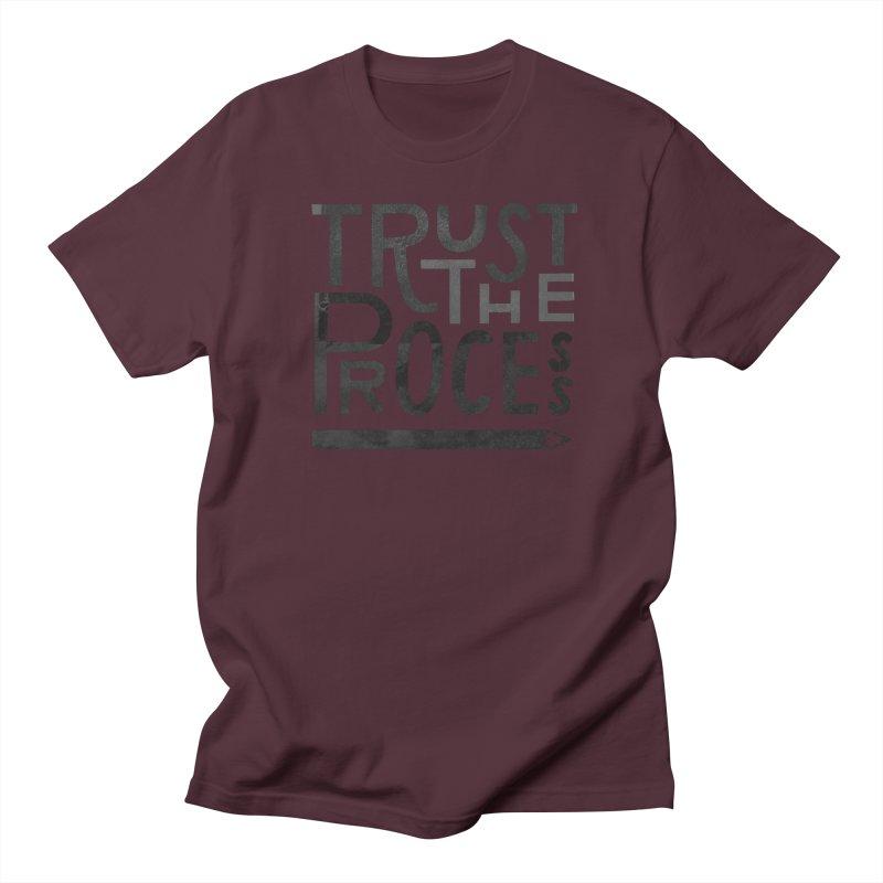 Trust the Process Men's Regular T-Shirt by Katie Lukes