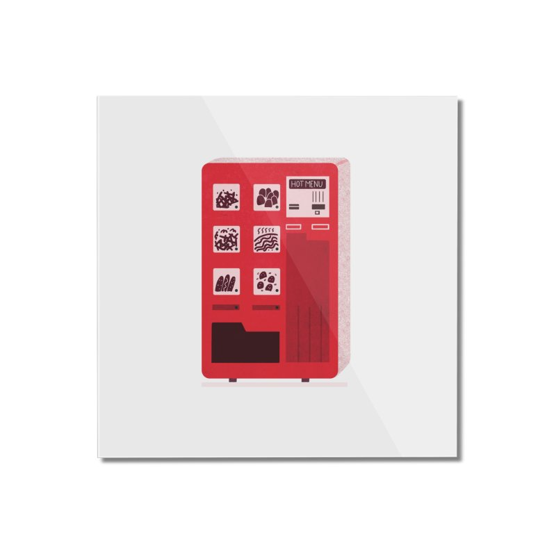 Japan Vending Home Mounted Acrylic Print by Katie Lukes