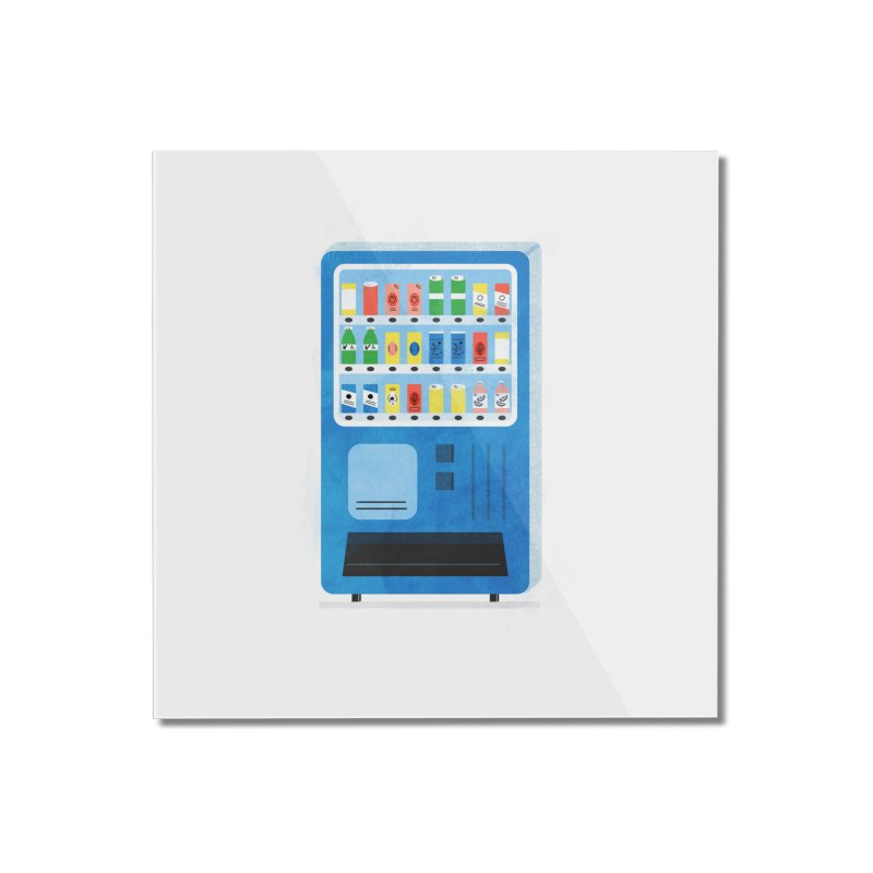 Japan Vending 2 Home Mounted Acrylic Print by Katie Lukes