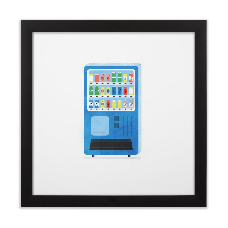 Japan Vending 2 Home Framed Fine Art Print by Katie Lukes