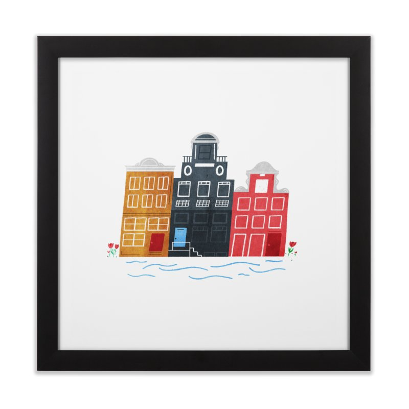 Amsterdam Home Framed Fine Art Print by Katie Lukes