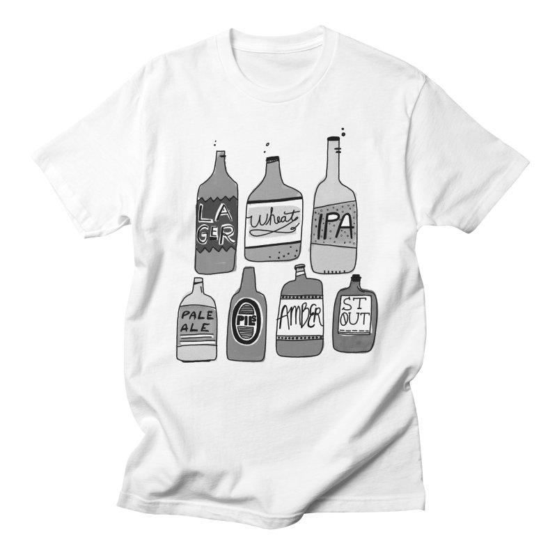 Beer Family Men's T-Shirt by Katie Lukes