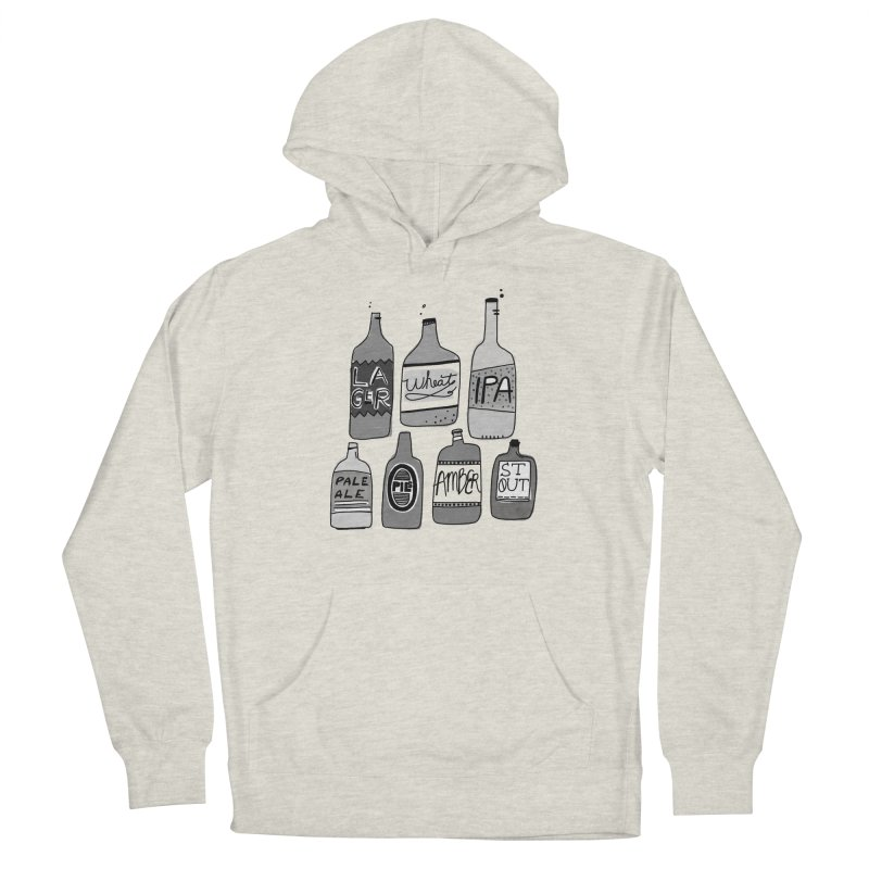 Beer Family Men's Pullover Hoody by Katie Lukes