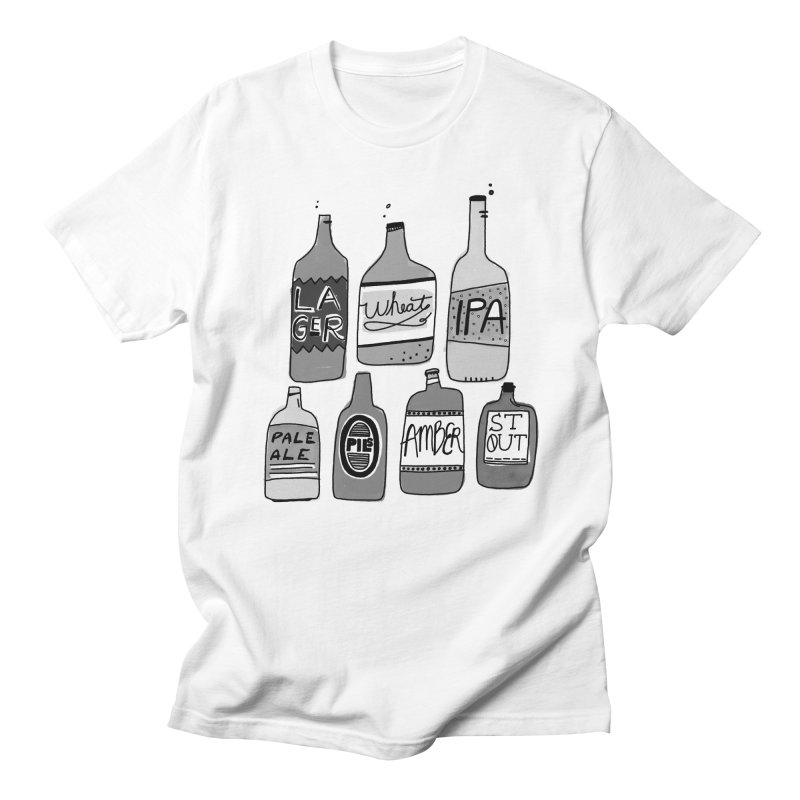 Beer Family Men's Regular T-Shirt by Katie Lukes