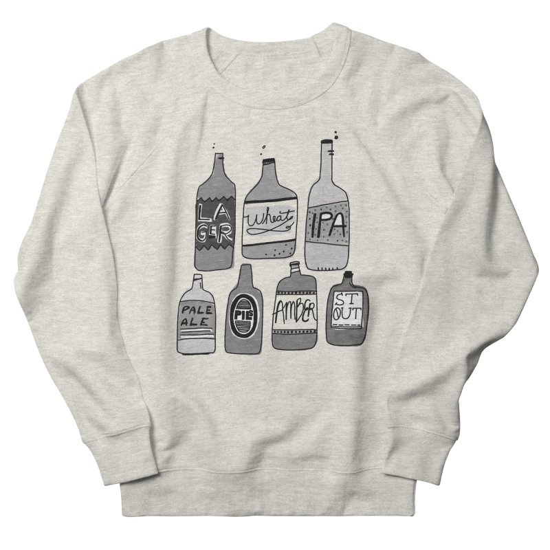 Beer Family Women's French Terry Sweatshirt by Katie Lukes