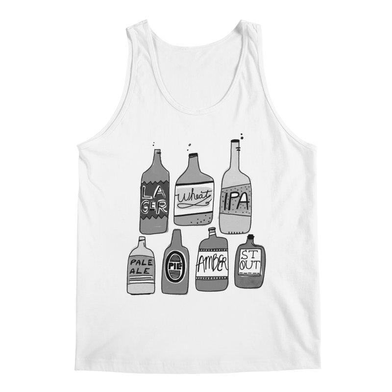 Beer Family Men's Regular Tank by Katie Lukes