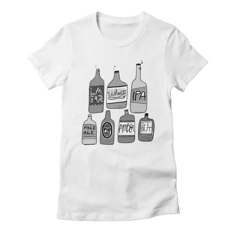 Beer Family Women's T-Shirt by Katie Lukes